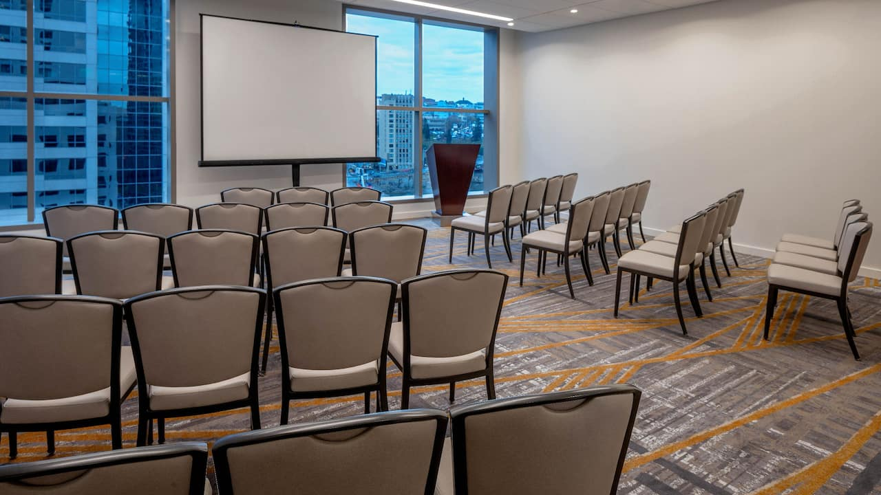 Hyatt Regency Seattle Meeting Room Setup
