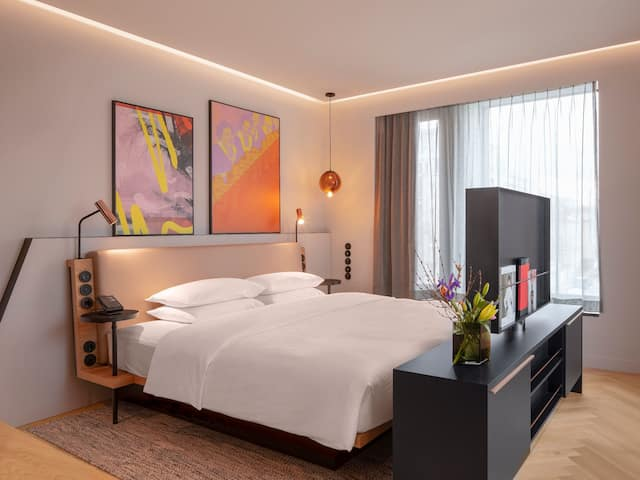 Andaz Suite BEdroom