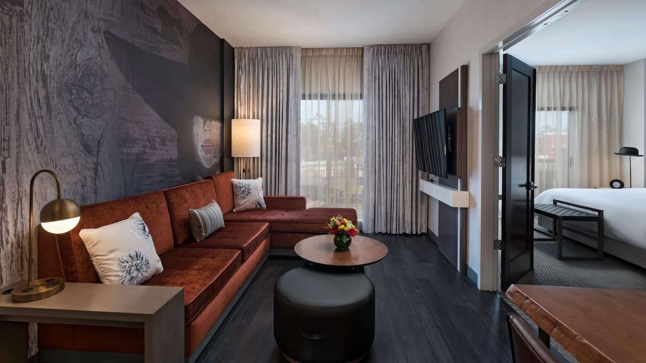 Hyatt Centric The Woodlands | Lux Suite Patio