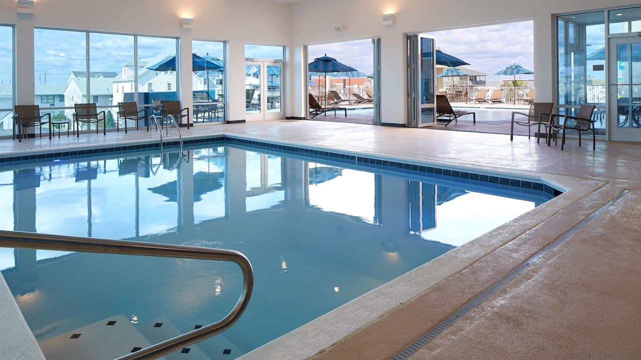 Hyatt Place Ocean City Oceanfront Indoor Outdoor Pool