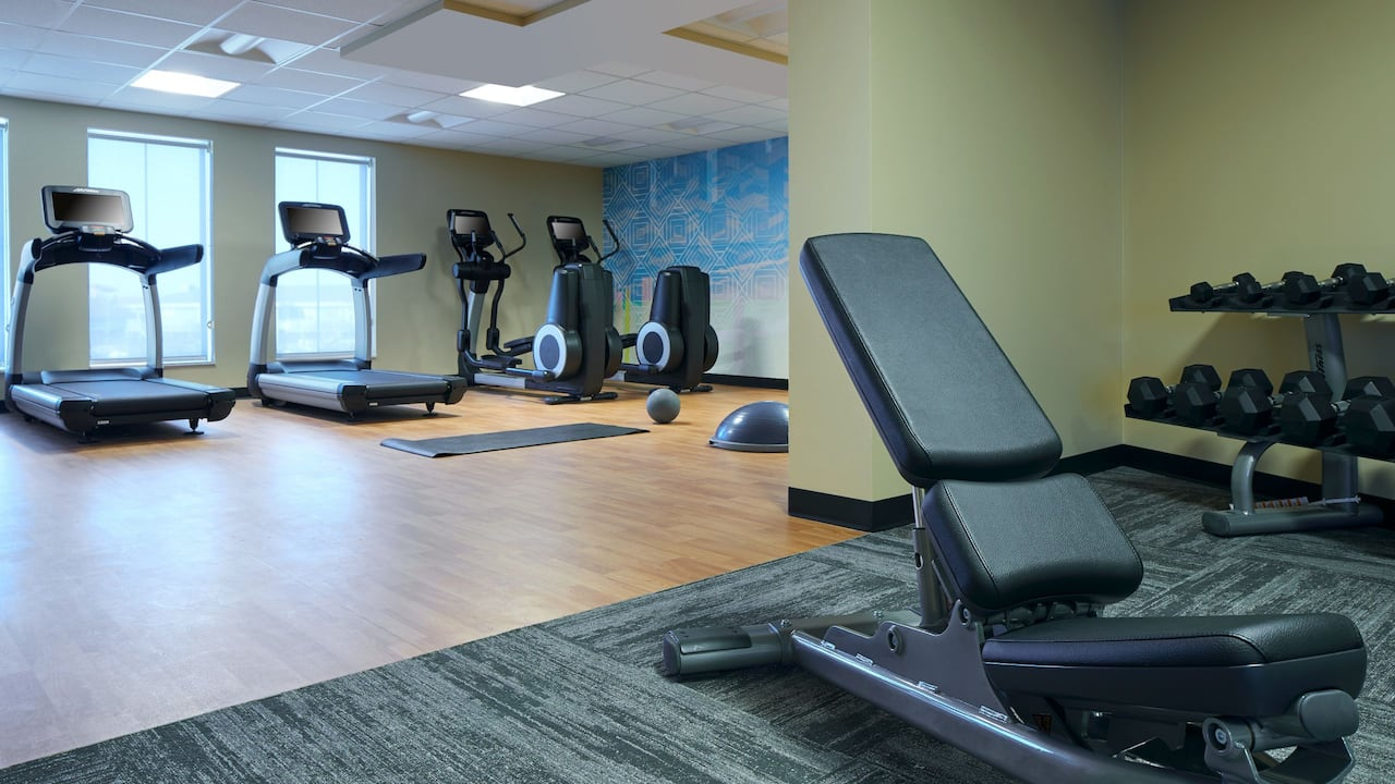 Hyatt Place Ocean City Oceanfront Stay Fit 24-Hour Gym Fitness Center