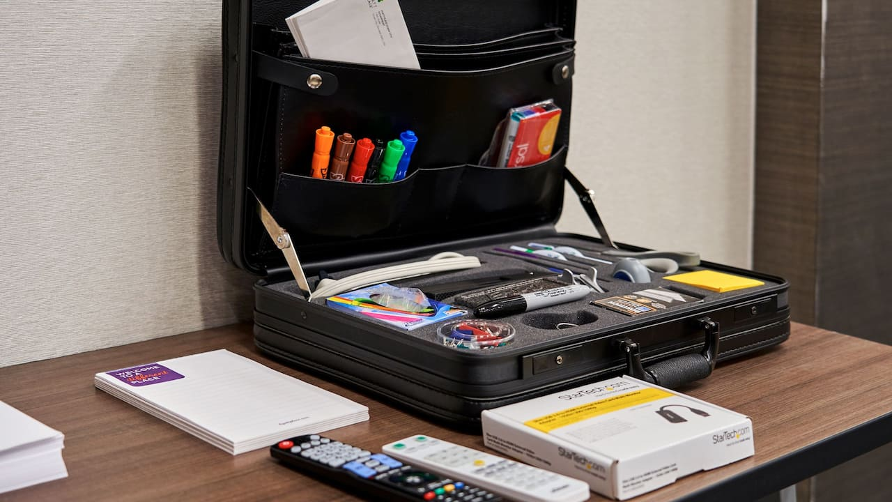 Hyatt Place Ocean City Oceanfront Meeting Business Briefcase Tools