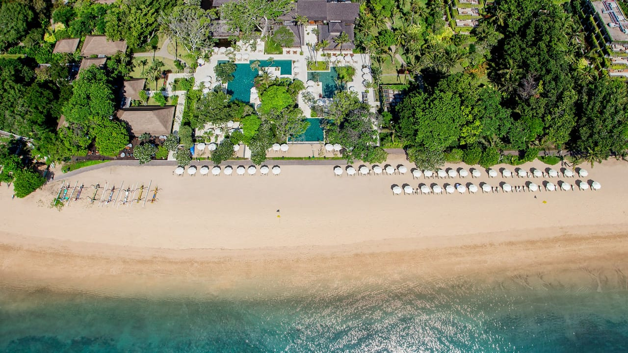 Luxury Beachfront Resorts and Spa Hyatt Regency Bali
