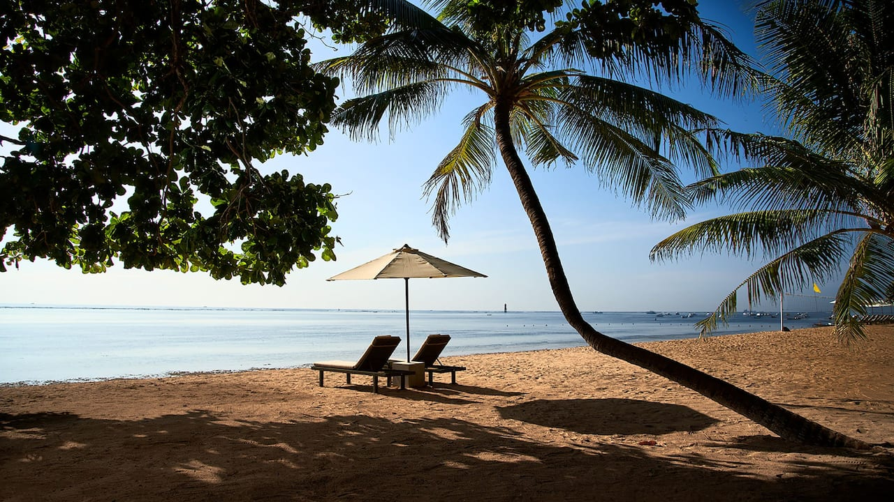 Sanur Beach at Hyatt Regency Bali Resort