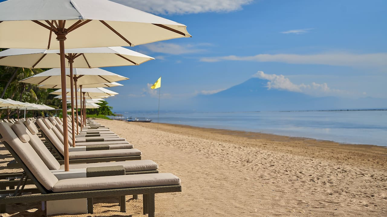 Hyatt Regency Bali Resort with Private Sanur Beach Access