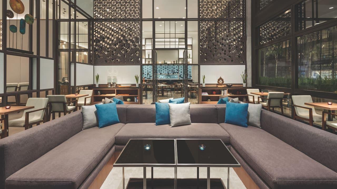 Hotel Lobby Hyatt House, Kuala Lumpur Mont Kiara Malaysia