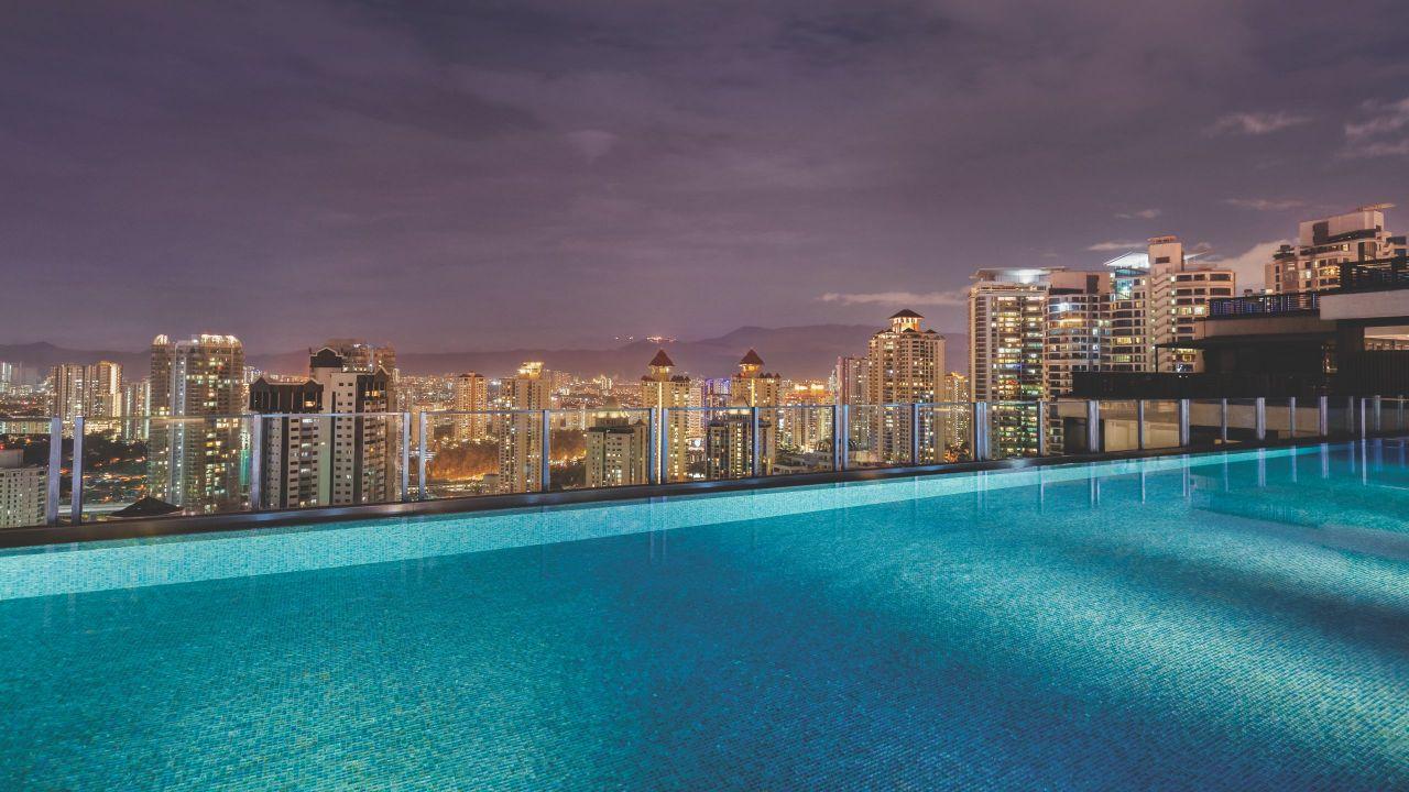 Hyatt House Kuala Lumpur Mont Kiara Rooftop Infinity Sky Pool