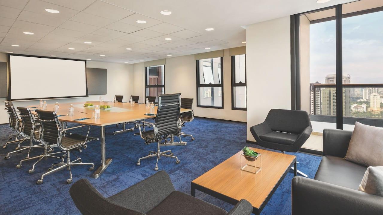 Boardroom Meeting Space at Hyatt House, Kuala Lumpur Mont Kiara Malaysia