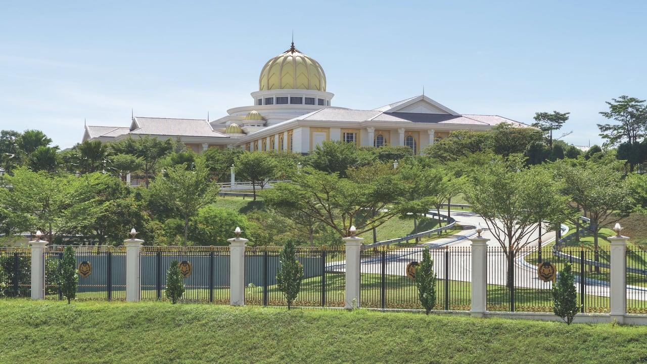 The National Palace of Malaysia, Kuala Lumpur