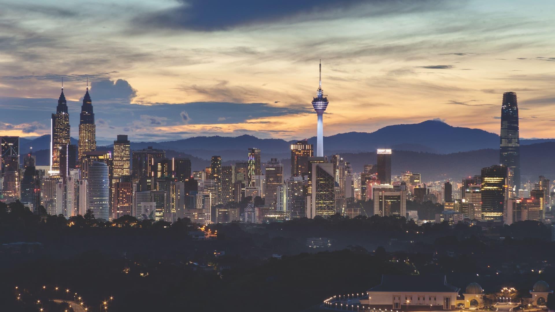 KL Tower Views, Hyatt House Kuala Lumpur, Mont Kiara in Kuala Lumpur
