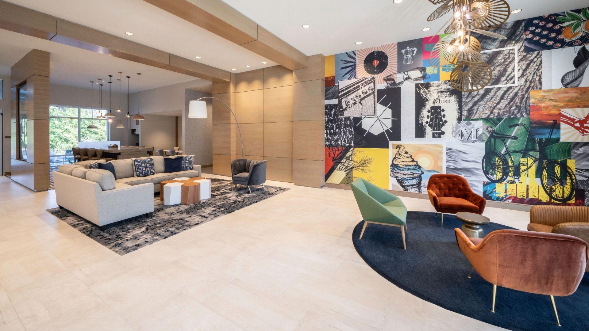Hyatt Place Sandestin/at Grand Boulevard Hotel Lobby