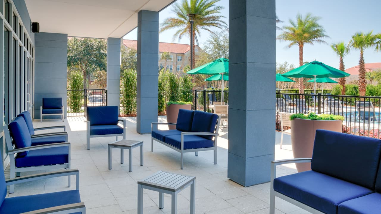 Outdoor Patio Hyatt Place Sandestin at Grand Boulevard