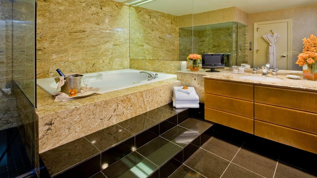 Accommodations Penthouse Bathroom