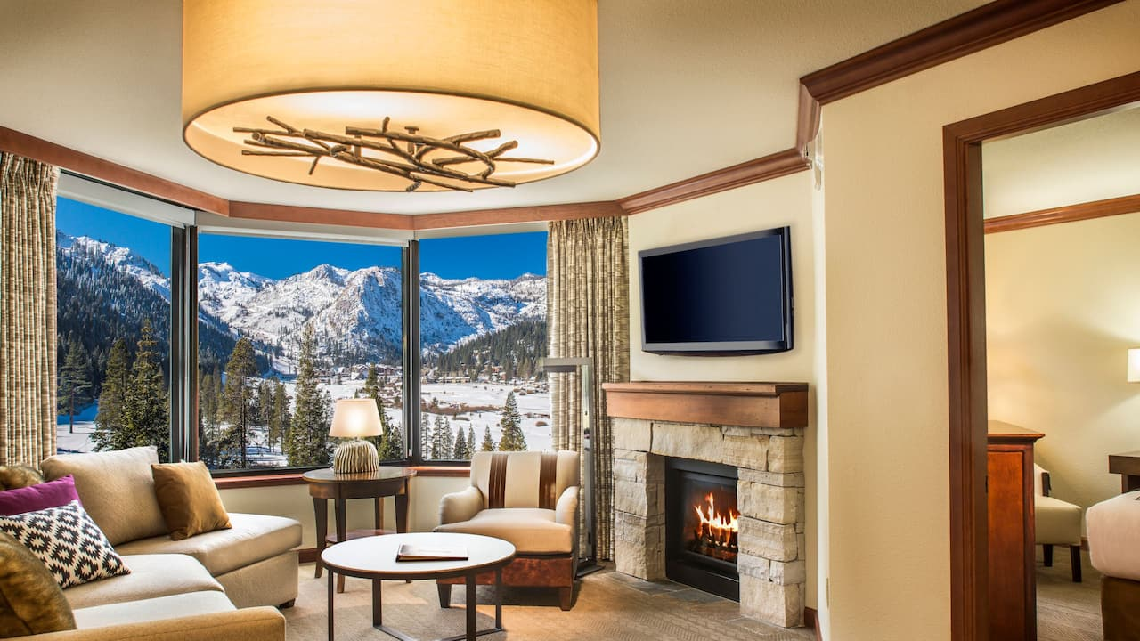 Fireplace Suite Living Room