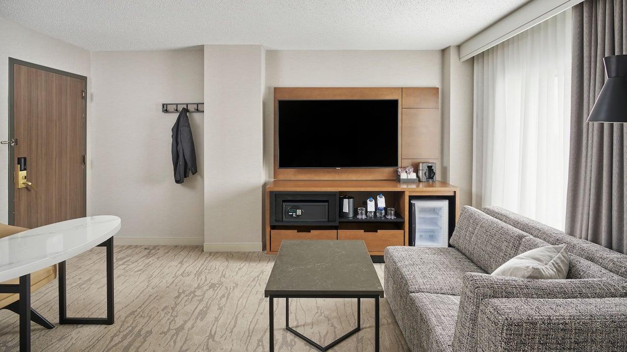 Standard Guestroom Living Area