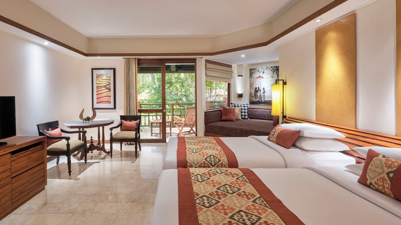 Grand Hyatt Bali Room 2 Twin Beds Club Access