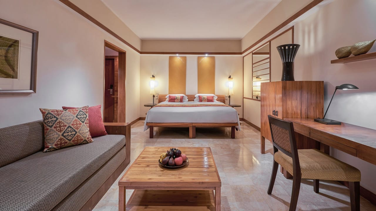 1 King Bed Ocean View Club Access, Grand Hyatt Bali