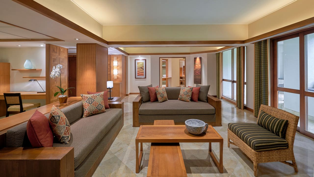 Living Room Club Executive Suite Grand Hyatt Bali