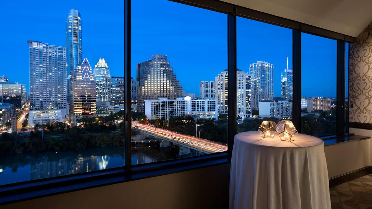 Hyatt Regency Austin Foothills Ballroom Reception