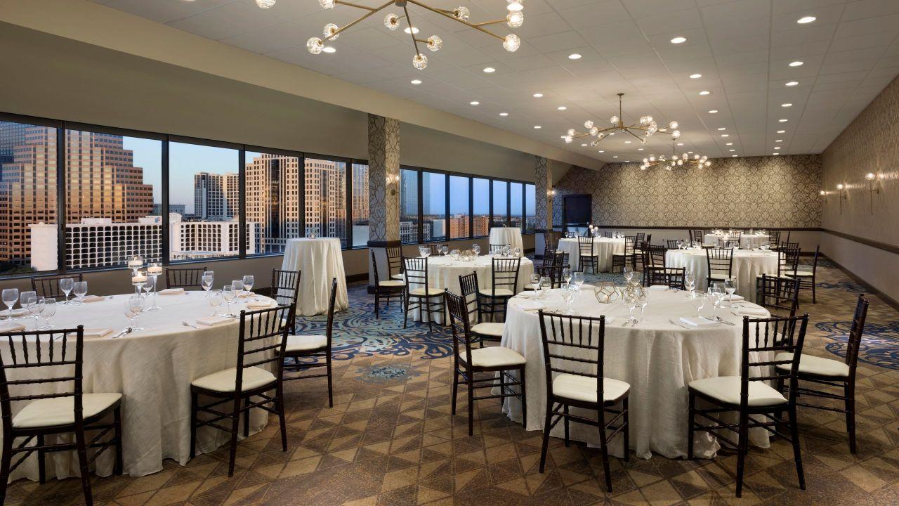 Hyatt Regency Austin Foothills Ballroom Reception