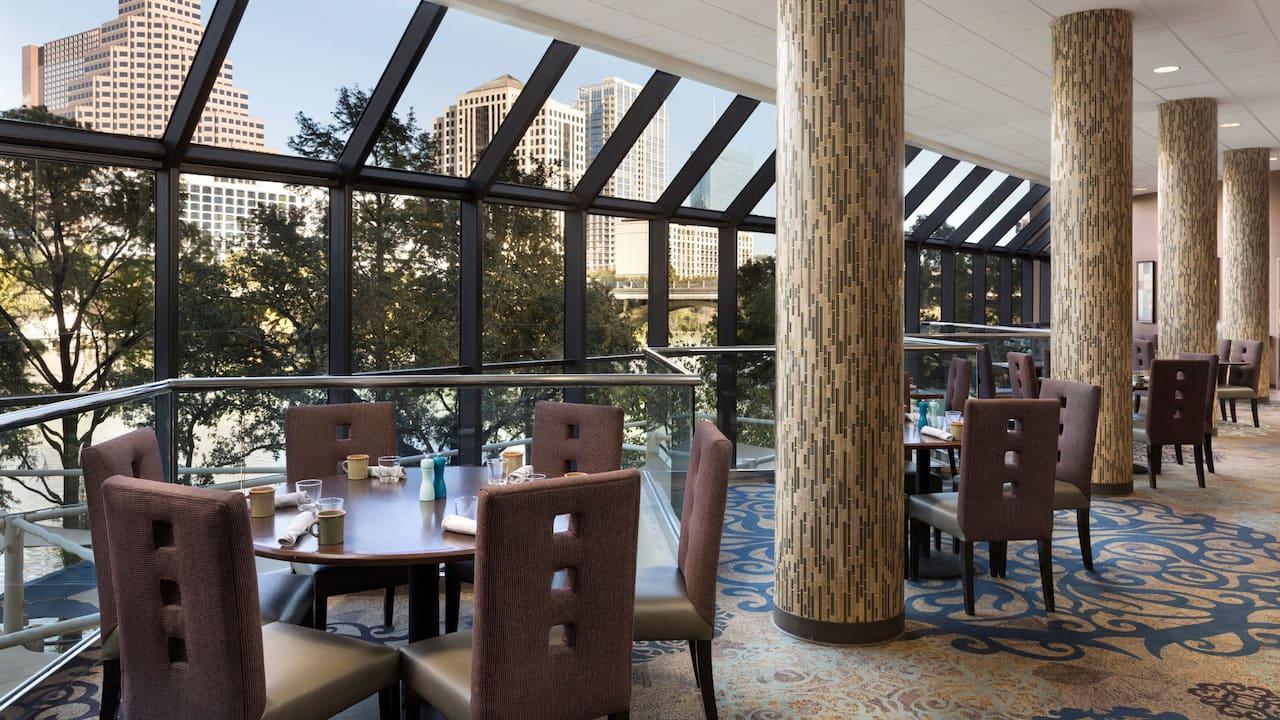 Hyatt Regency Austin SWB restaurant