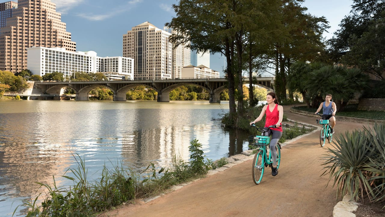 Hyatt Regency Austin bike trail