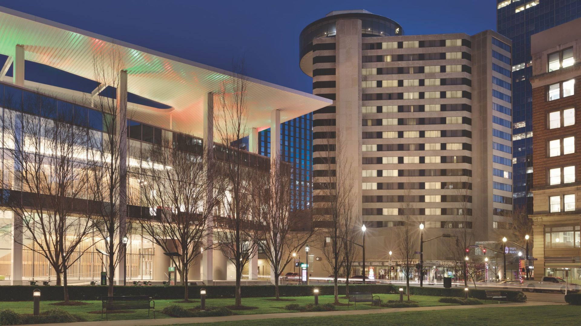 Convention Center Night