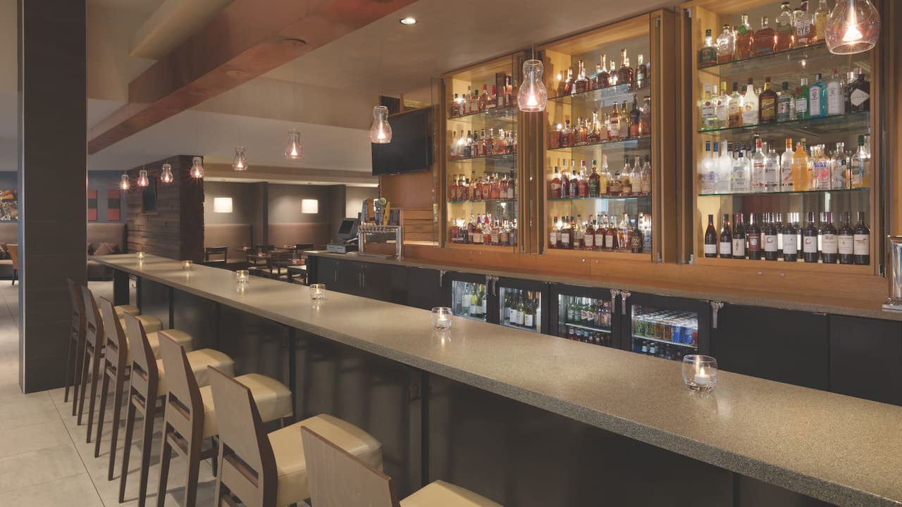 Bar seating at Sway Bar