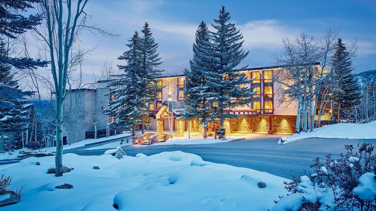 Winter exterior