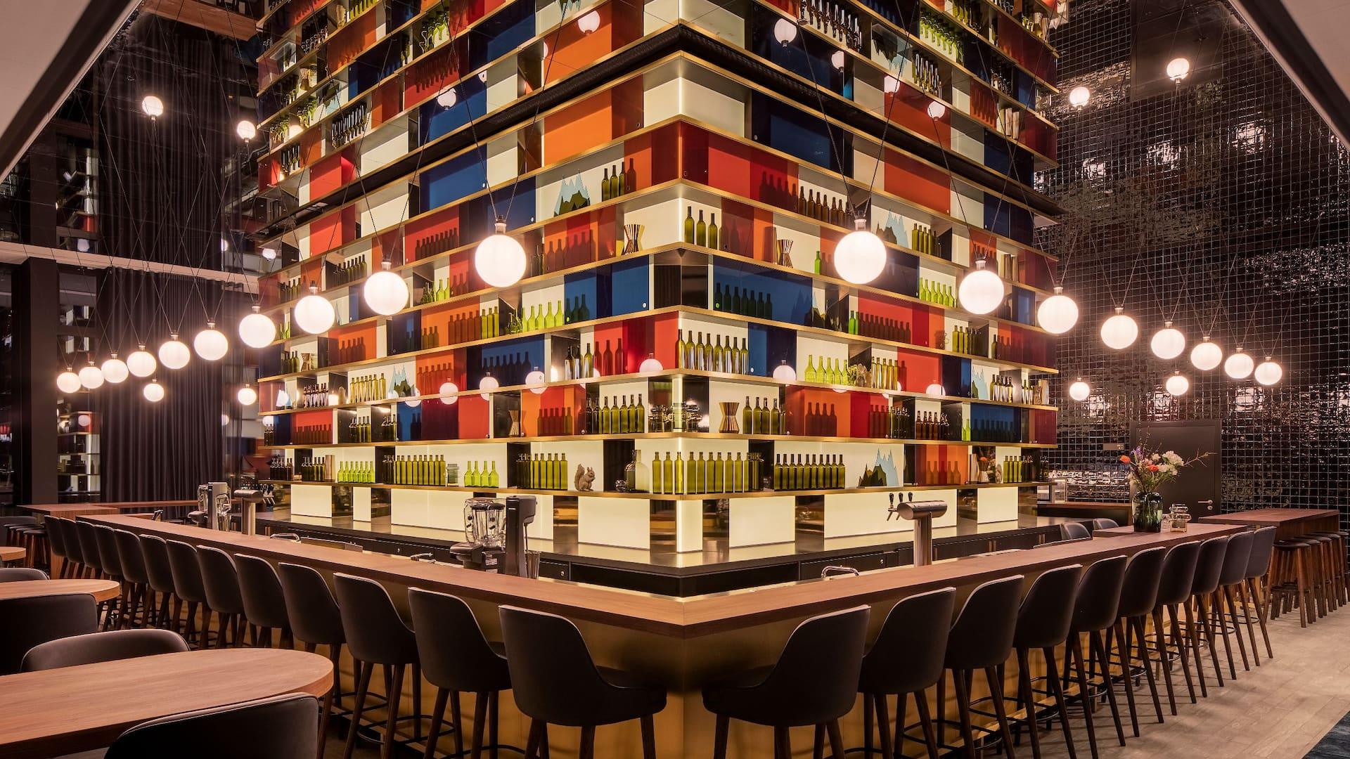 Stylish atmosphere M'Uniqo Bar Andaz Munich Schwabinger Tor