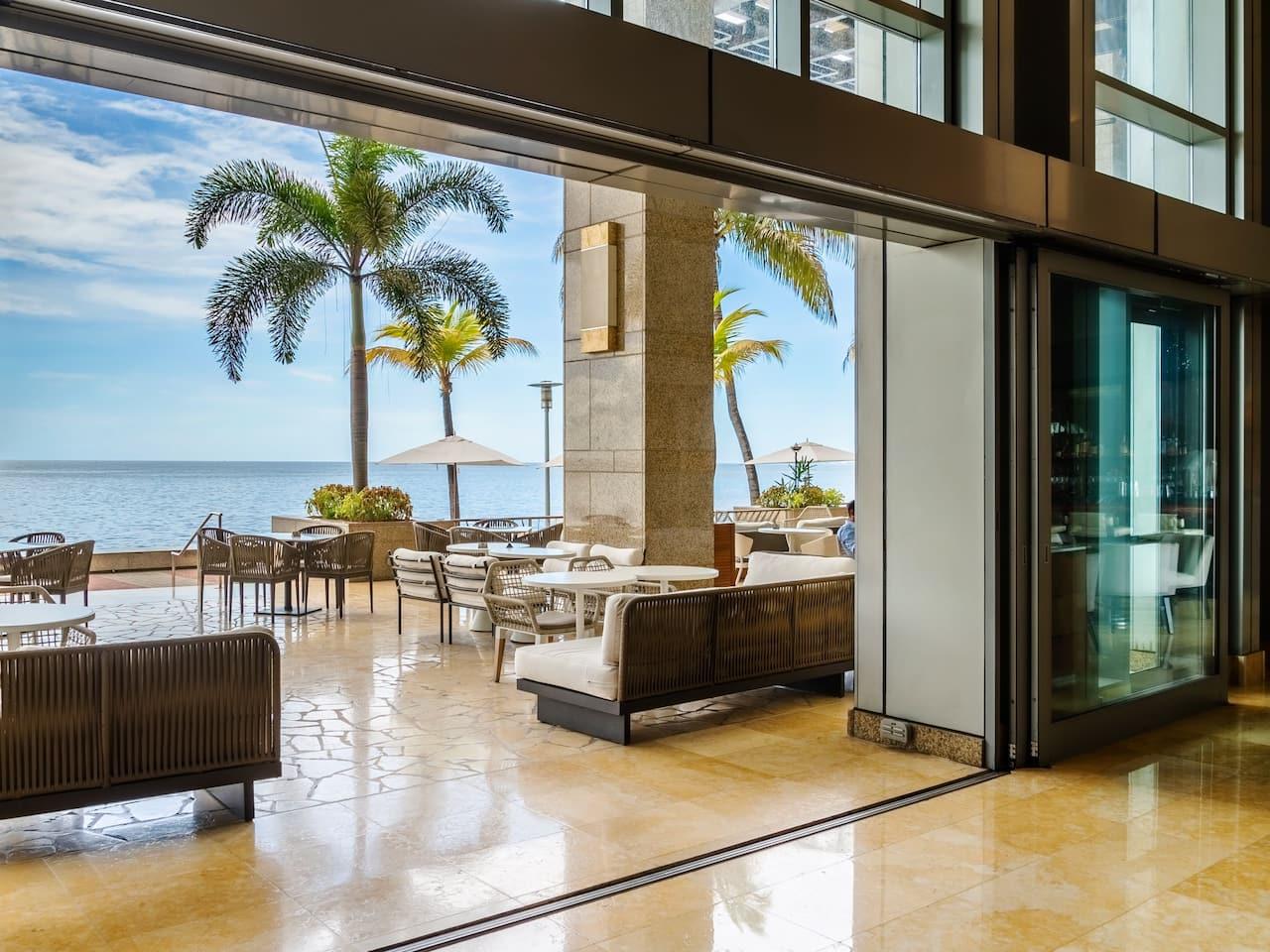Lobby Terrace View