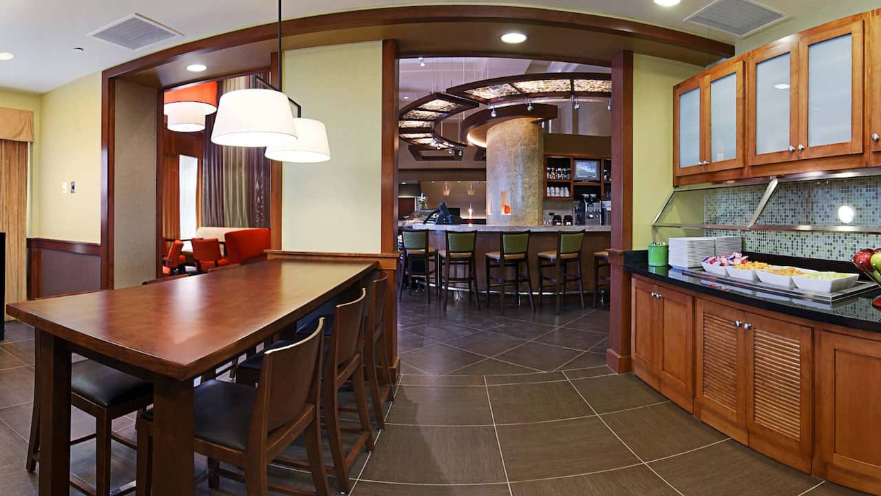 Lobby Guest Kitchen
