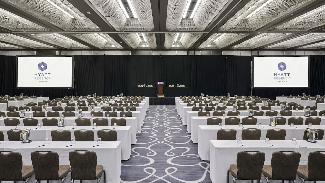 Regency Ballroom Classroom Setup With Podium