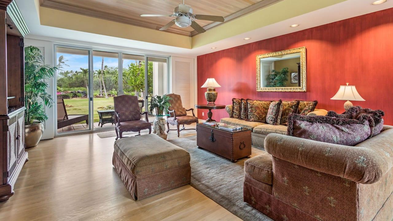 2 Bedroom Condo Living Room
