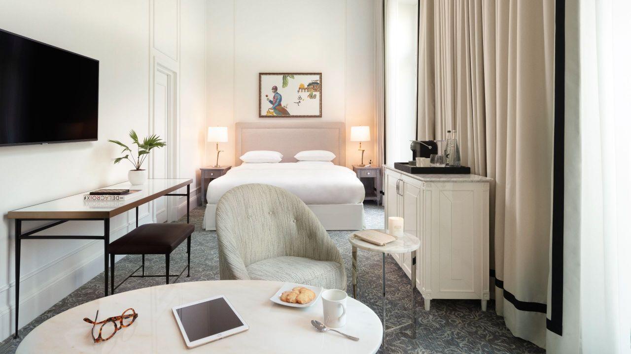Junior Suite Bedroom - Hotel du Louvre