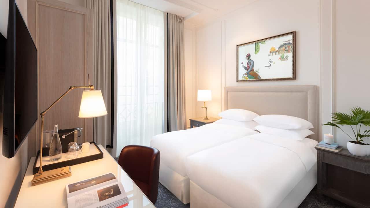 Standard Twin Room - Hotel du Louvre