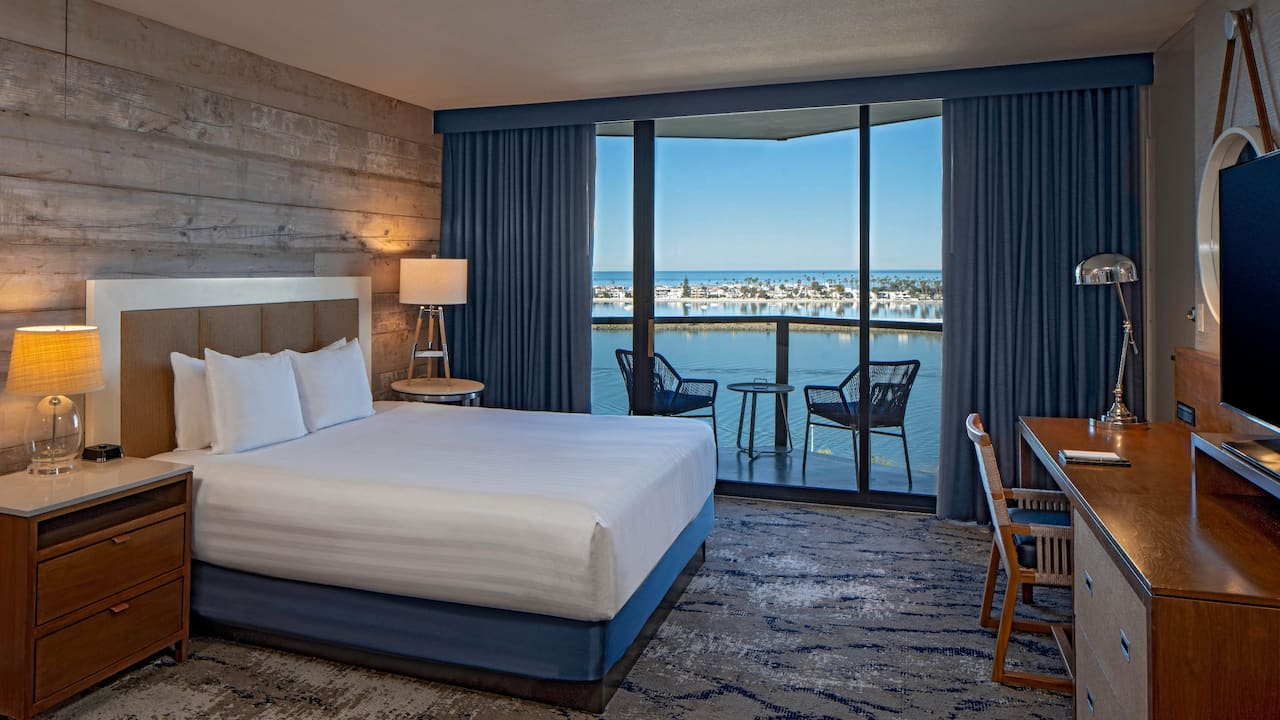 King Room Hyatt Regency Mission Bay Spa and Marina