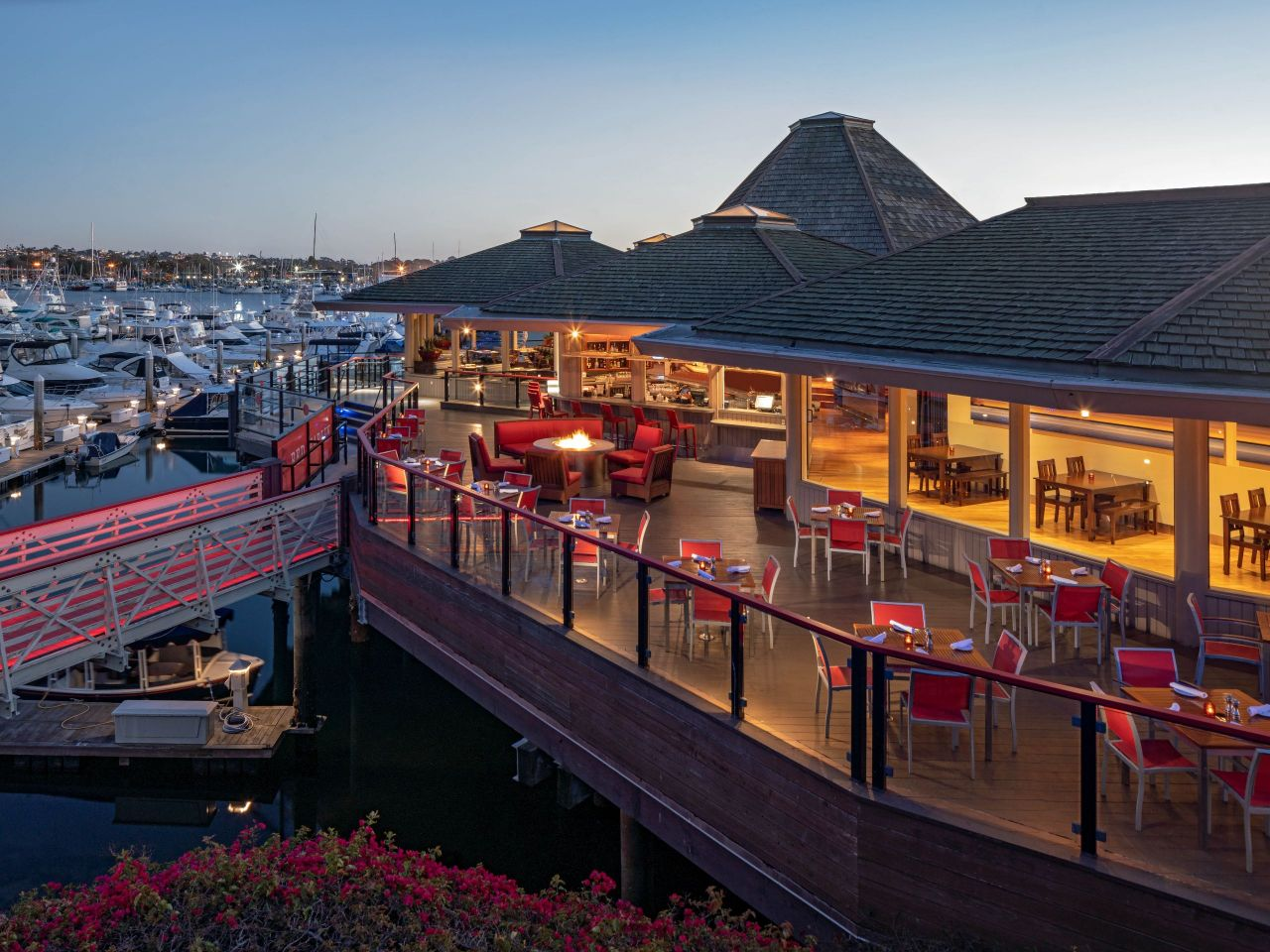 Red Marlin Deck Elevated