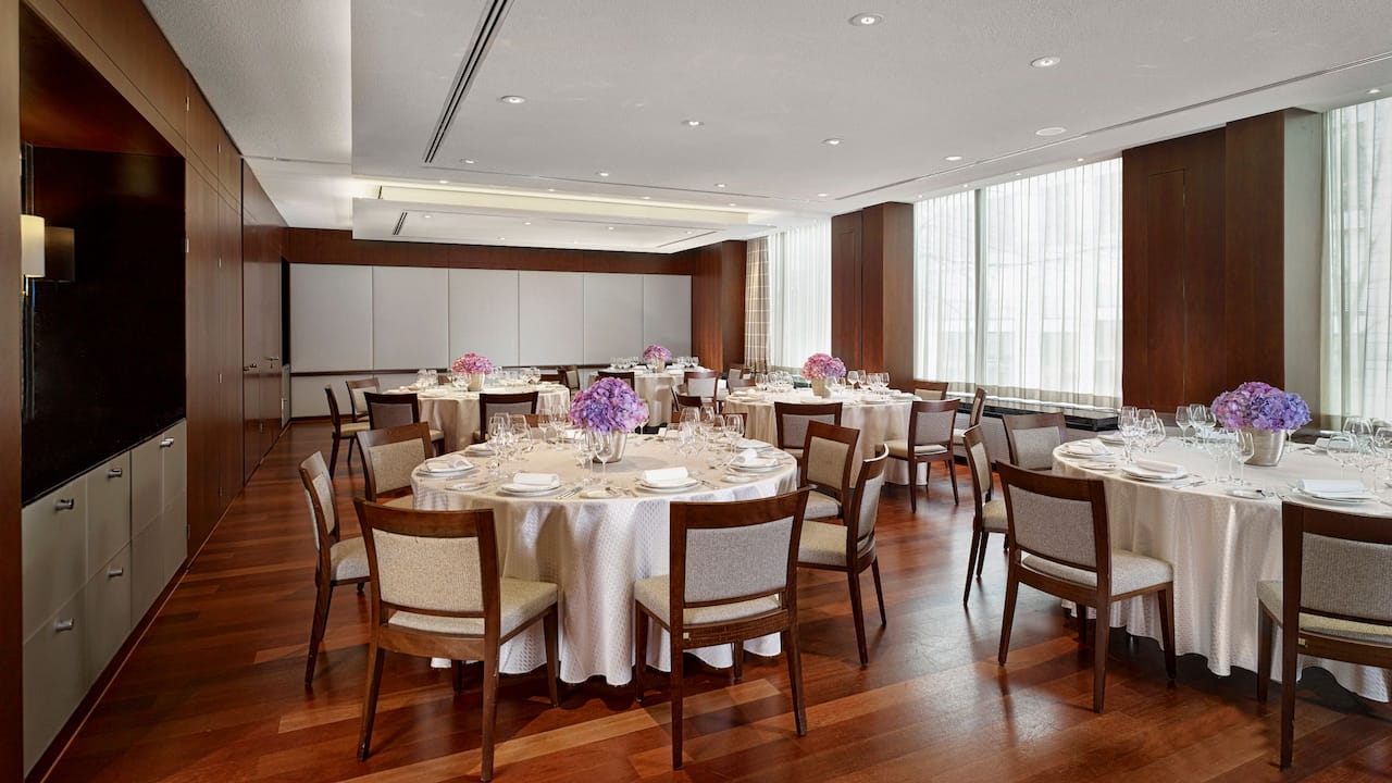 Park Hyatt Zurich Meeting Room Chicago and Shanghai