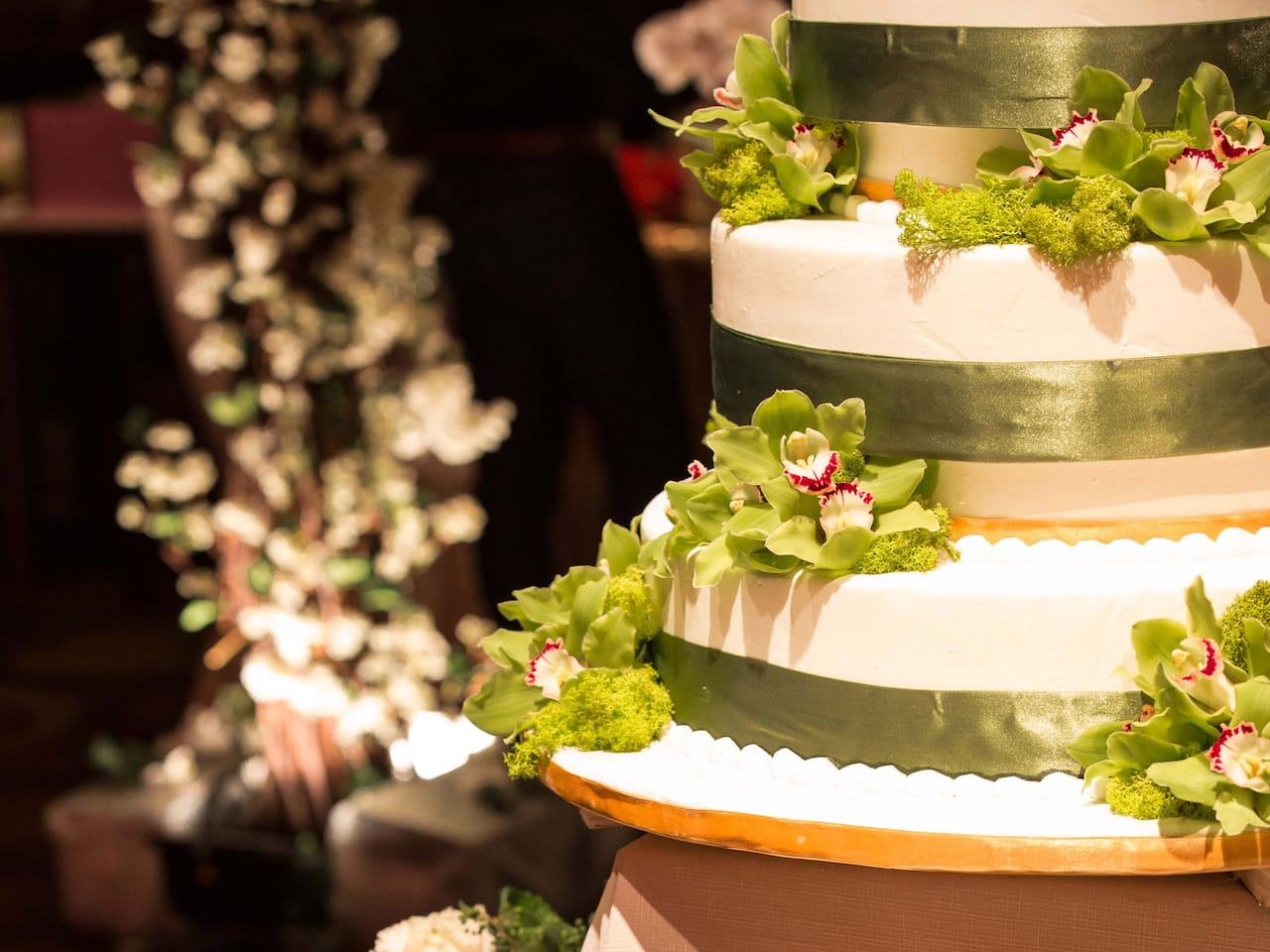Grand Hyatt Taipei Wedding Cake