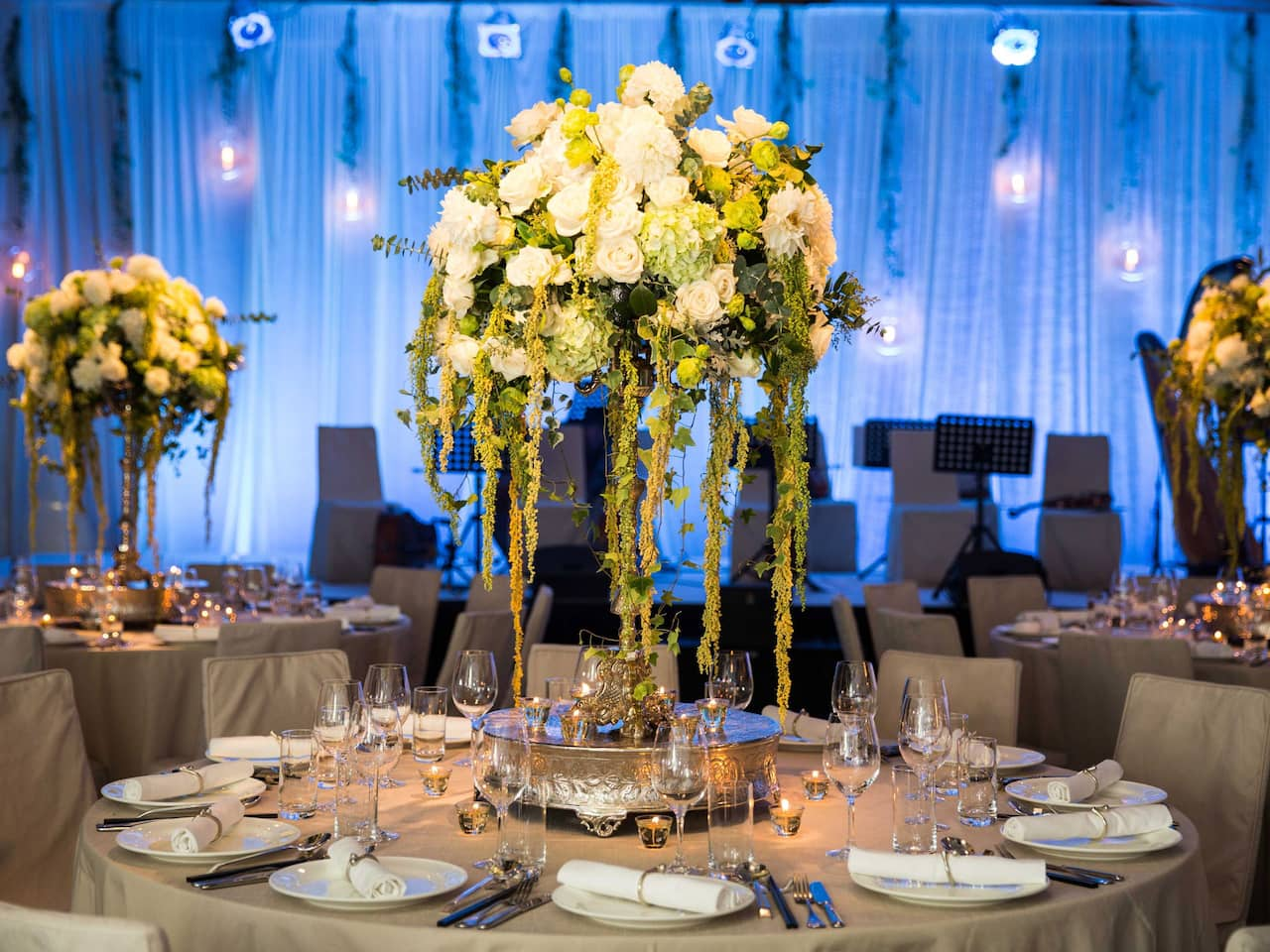 Grand Hyatt Taipei Wedding Decoration