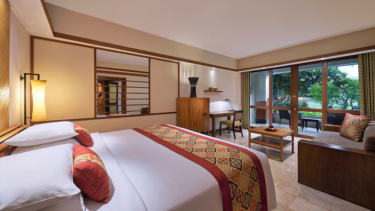 Bedroom 1 King Bed Club Access Deluxe at Grand Hyatt Bali