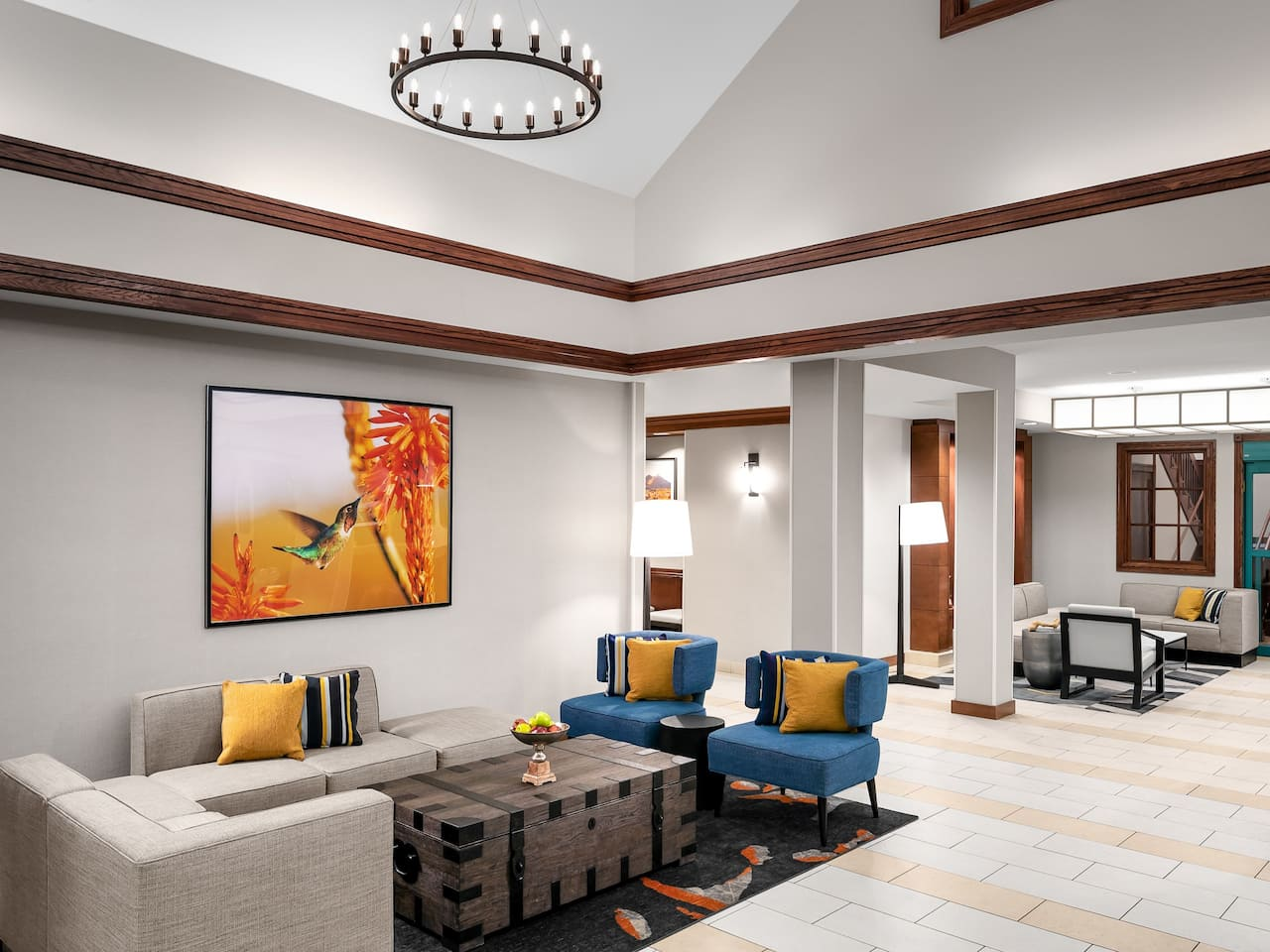 Hyatt House Scottsdale Old Town Lobby Lounge
