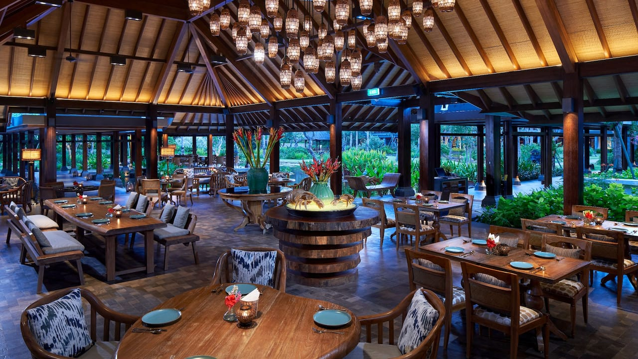 Omang Omang Indonesian and Grill Restaurant The Hyatt Regency Bali