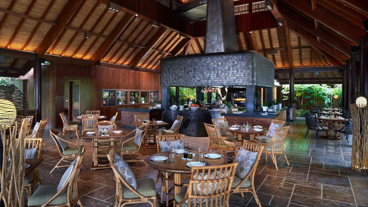 Pizzaria Italian Beachfront Restaurant Hyatt Regency Bali