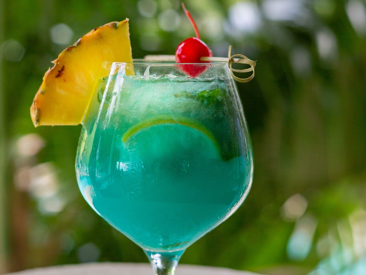 Blue Mojito at Hyatt Centric Key West