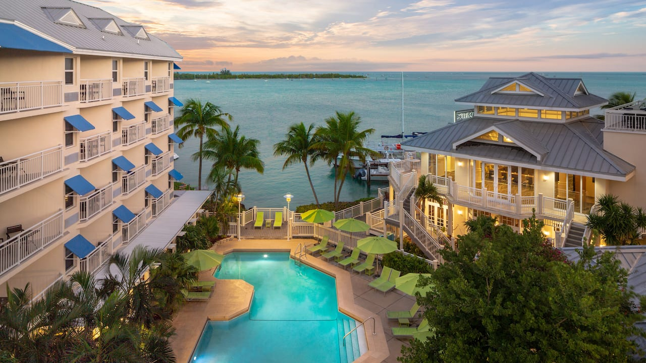 Front Drive Hyatt Centric Key West
