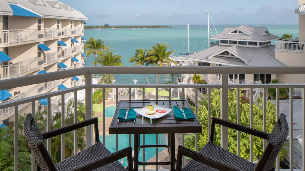 Key West Private Balcony