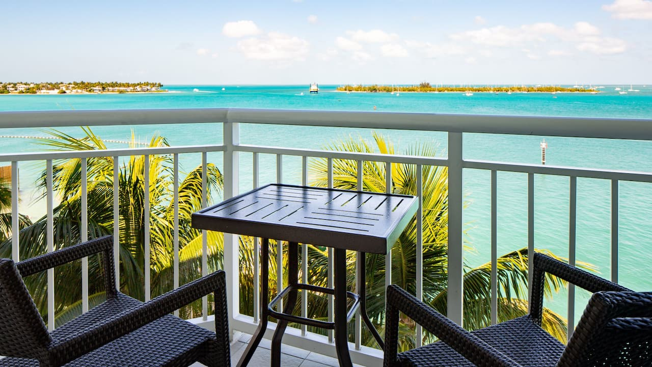 Ocean View Balconies at Hyatt Centric Key West