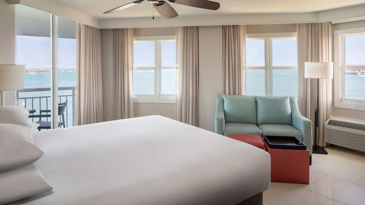 Room with 1 King Bed and Ocean View at Hyatt Centric Key West